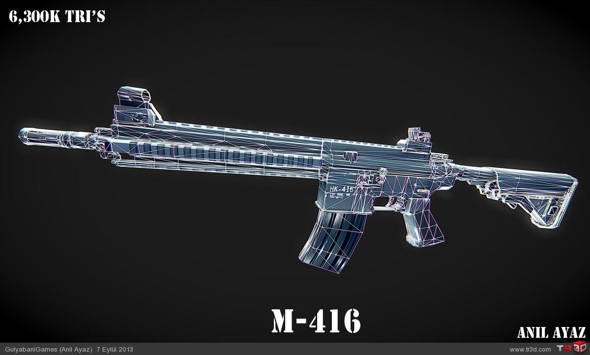 M 416 3d çizimler