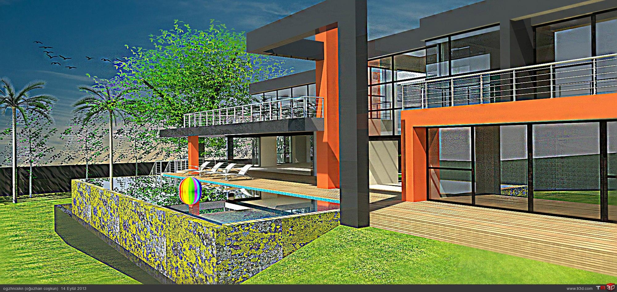 lüleburgaz bahçeli villa 1
