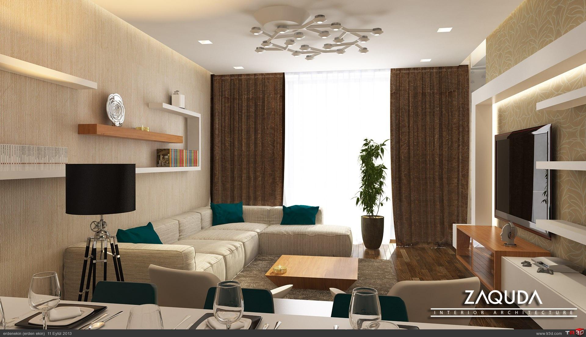 Örnek daire Salon