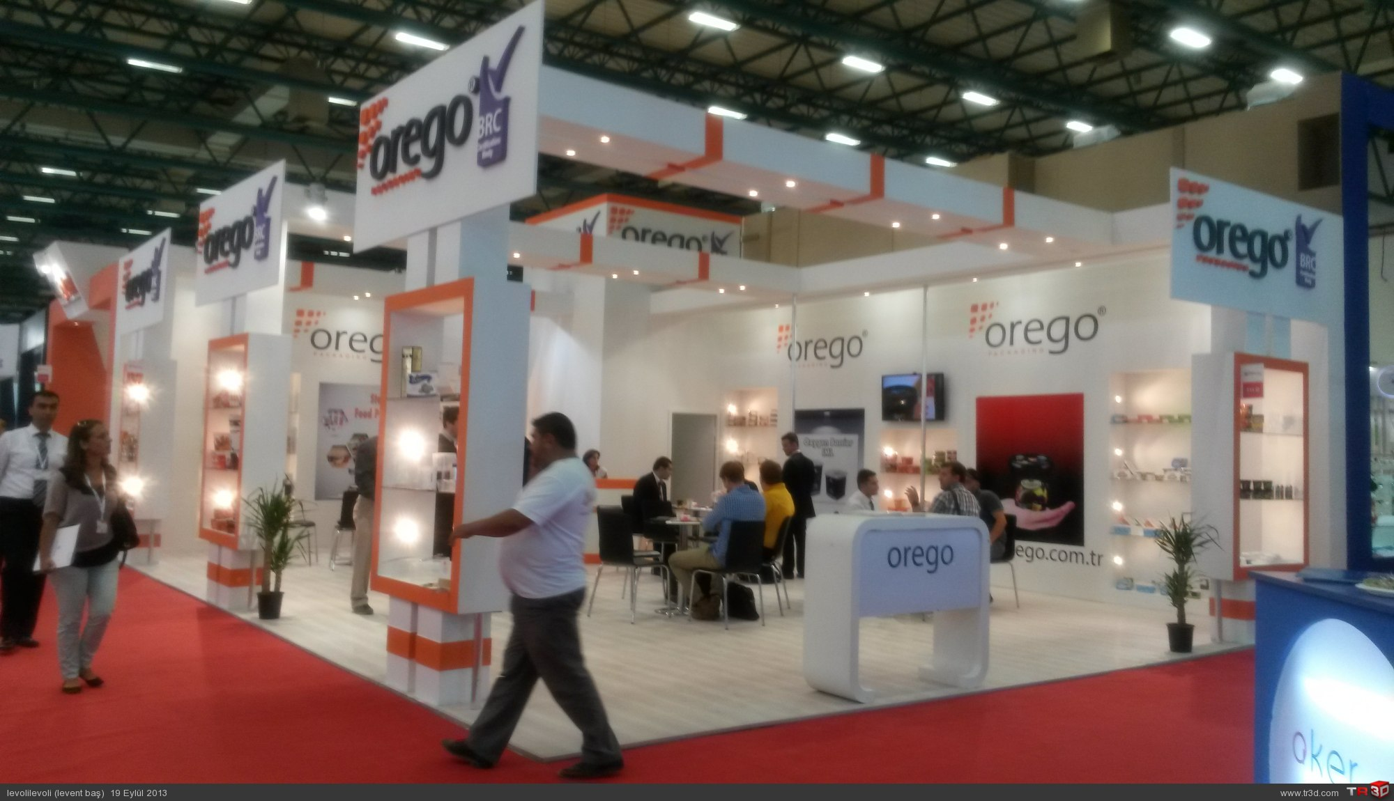 AHŞAP STAND OREGO 1