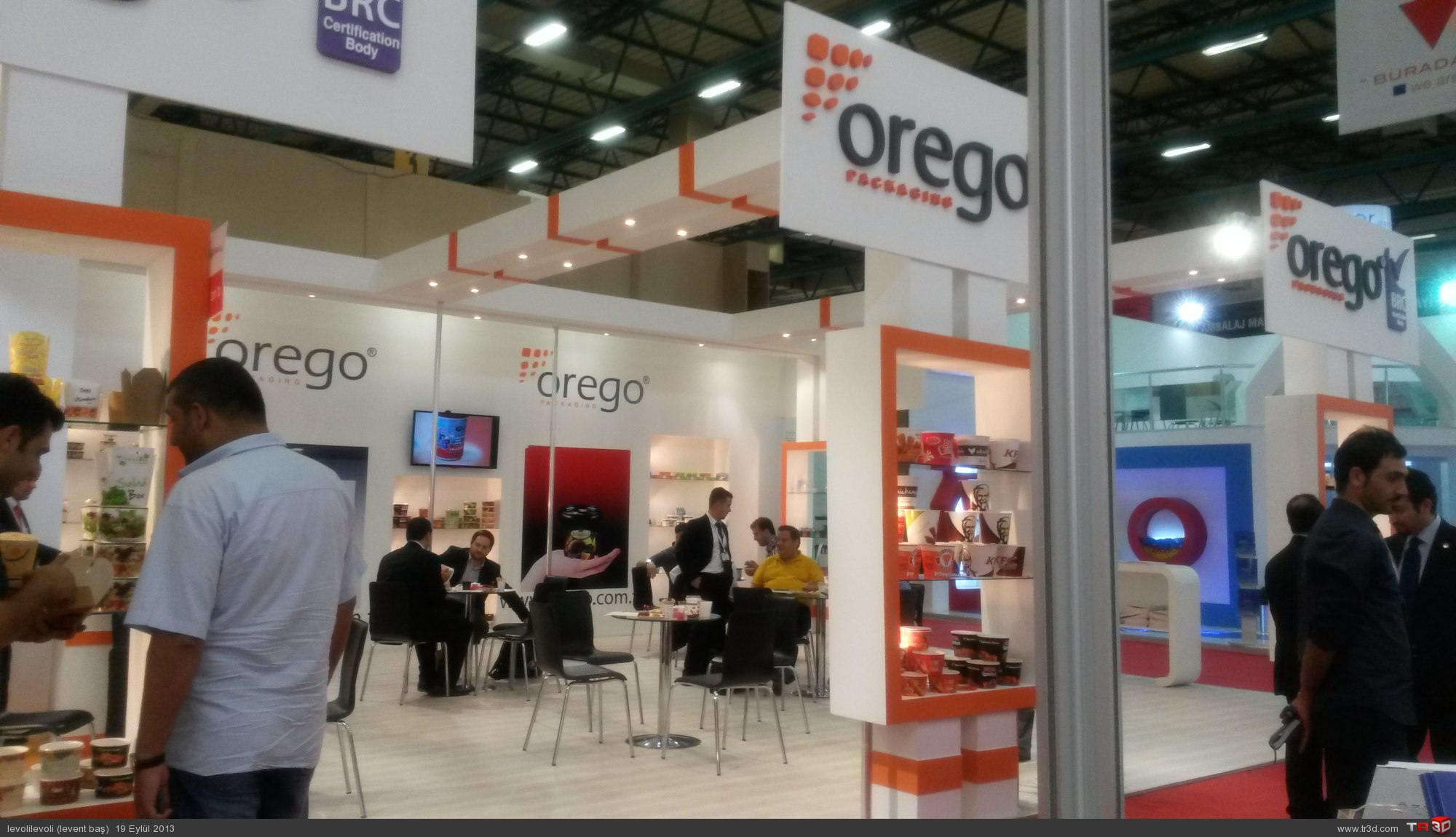 AHŞAP STAND OREGO 2