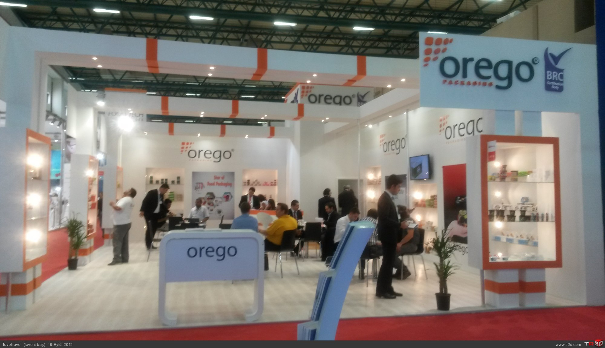 AHŞAP STAND OREGO 3