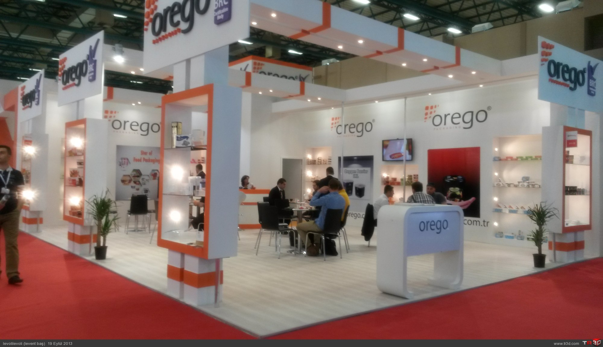 AHŞAP STAND OREGO 4