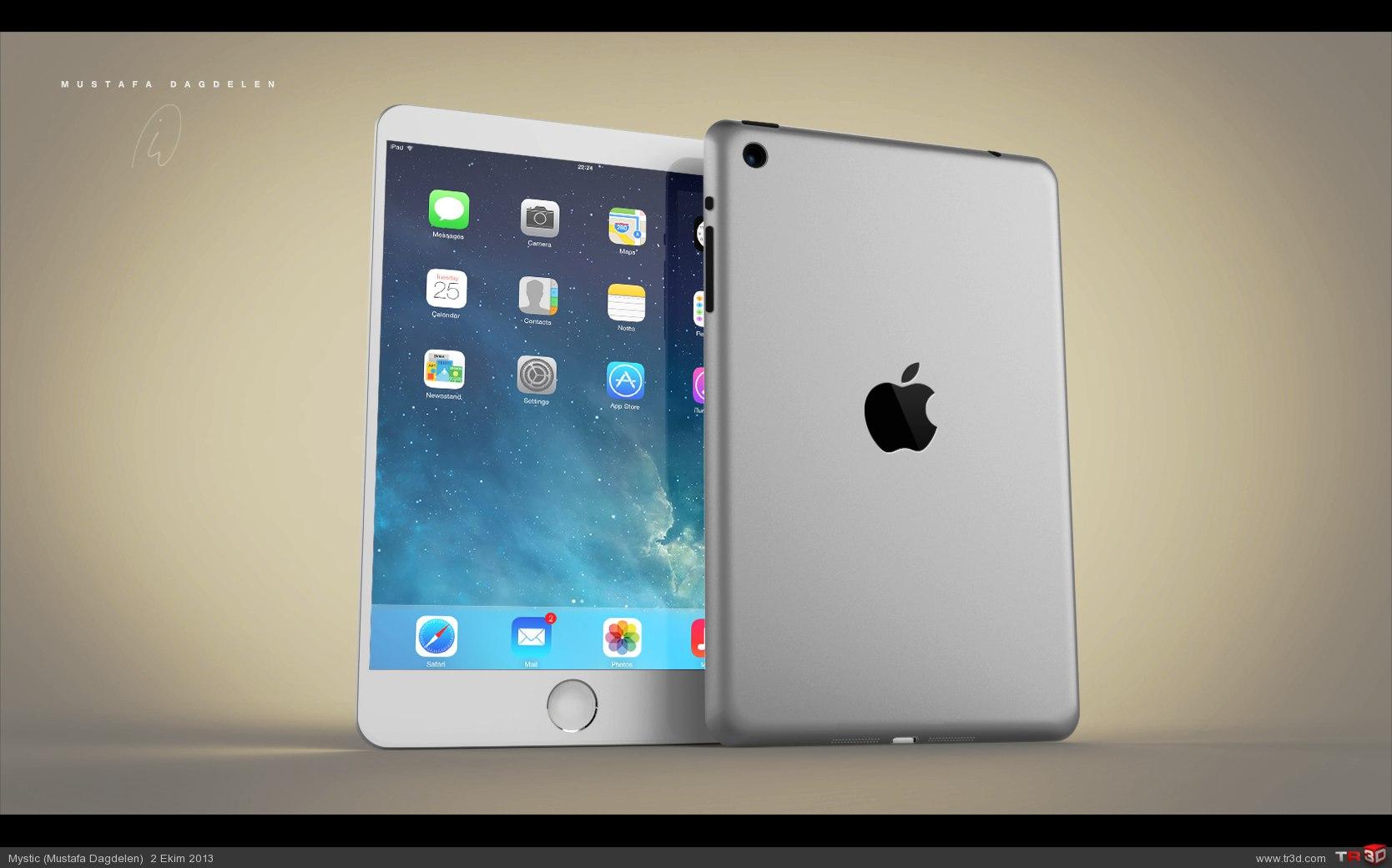 iPad 5 Konsept Tasarım