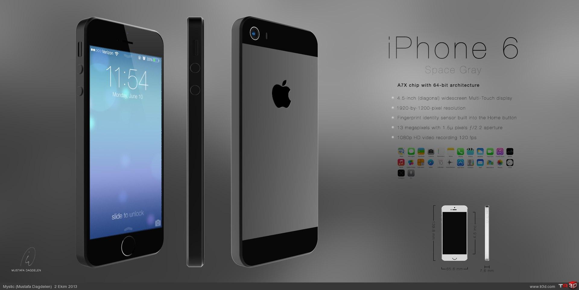 iPhone 6 Konsept Tasarım 1
