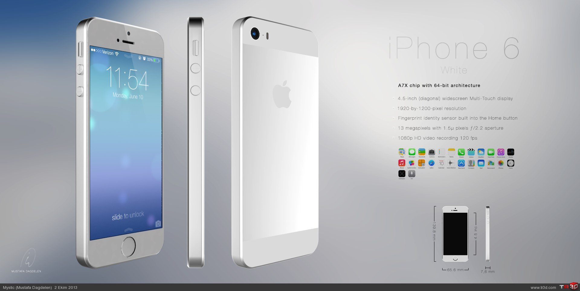 iPhone 6 Konsept Tasarım 2