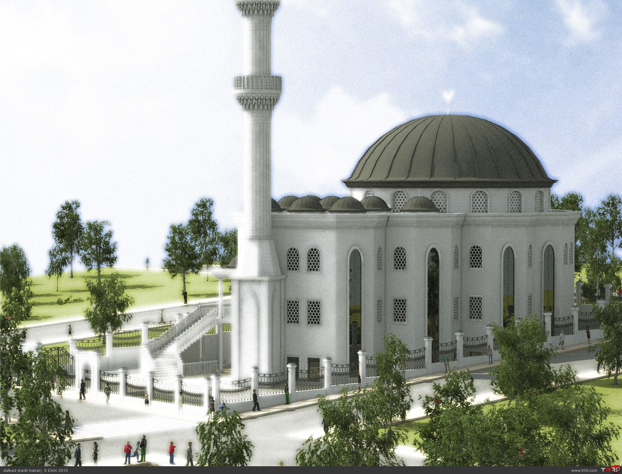 Cami Dış Proje Tasarım ile ilgili görsel sonucu