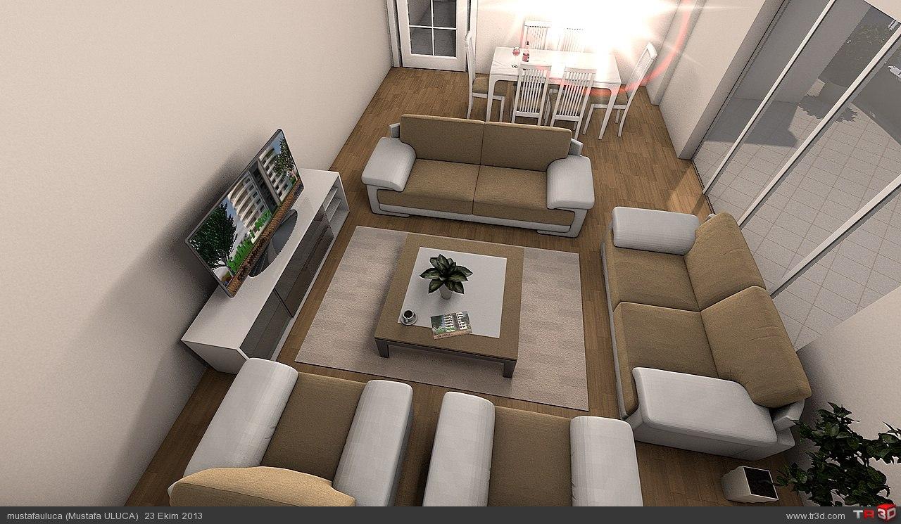 Salon mimari projeler for 30 metrekare salon dekorasyonu