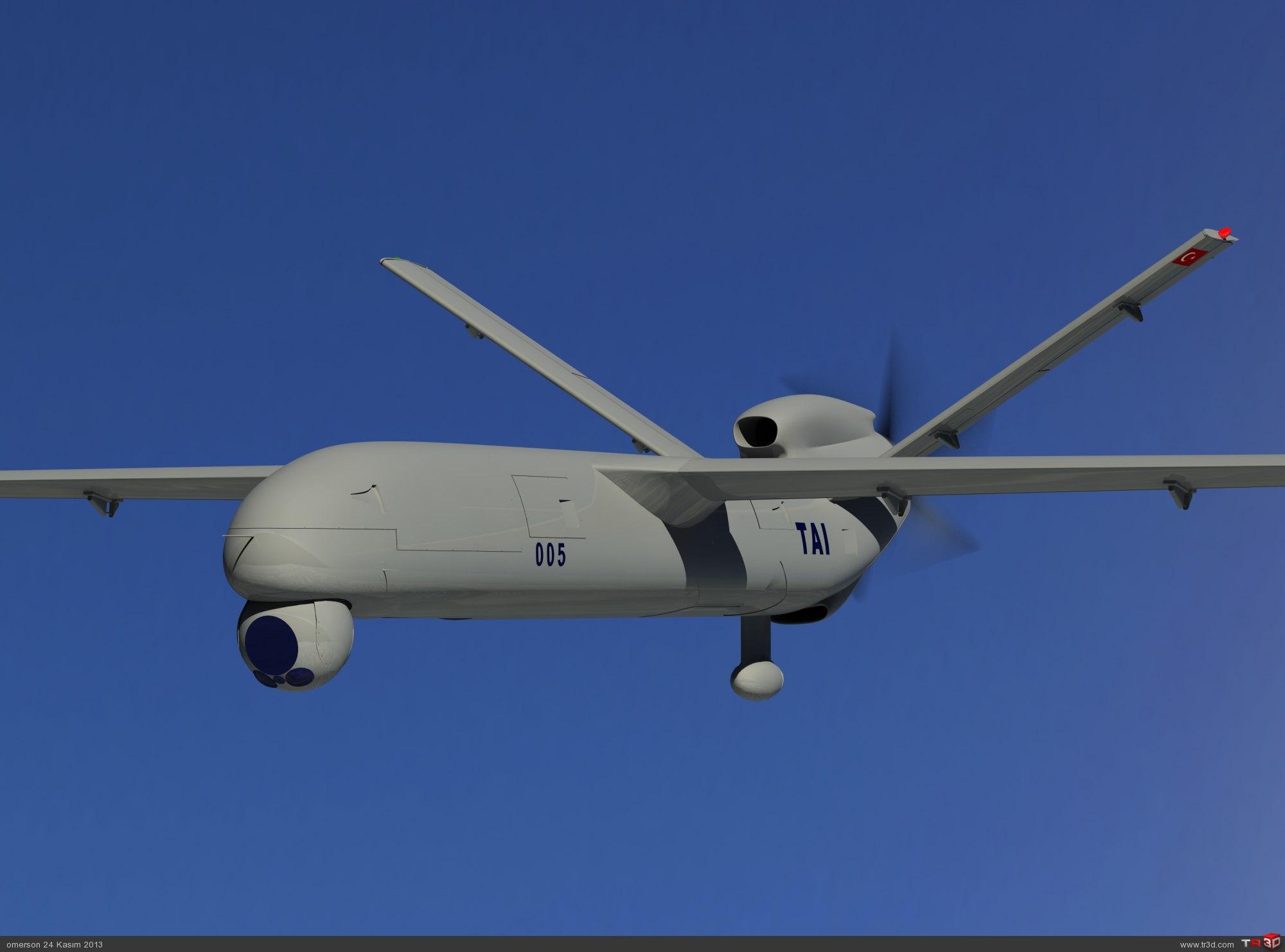 ANKA MİLLİ İHA-UAV 1