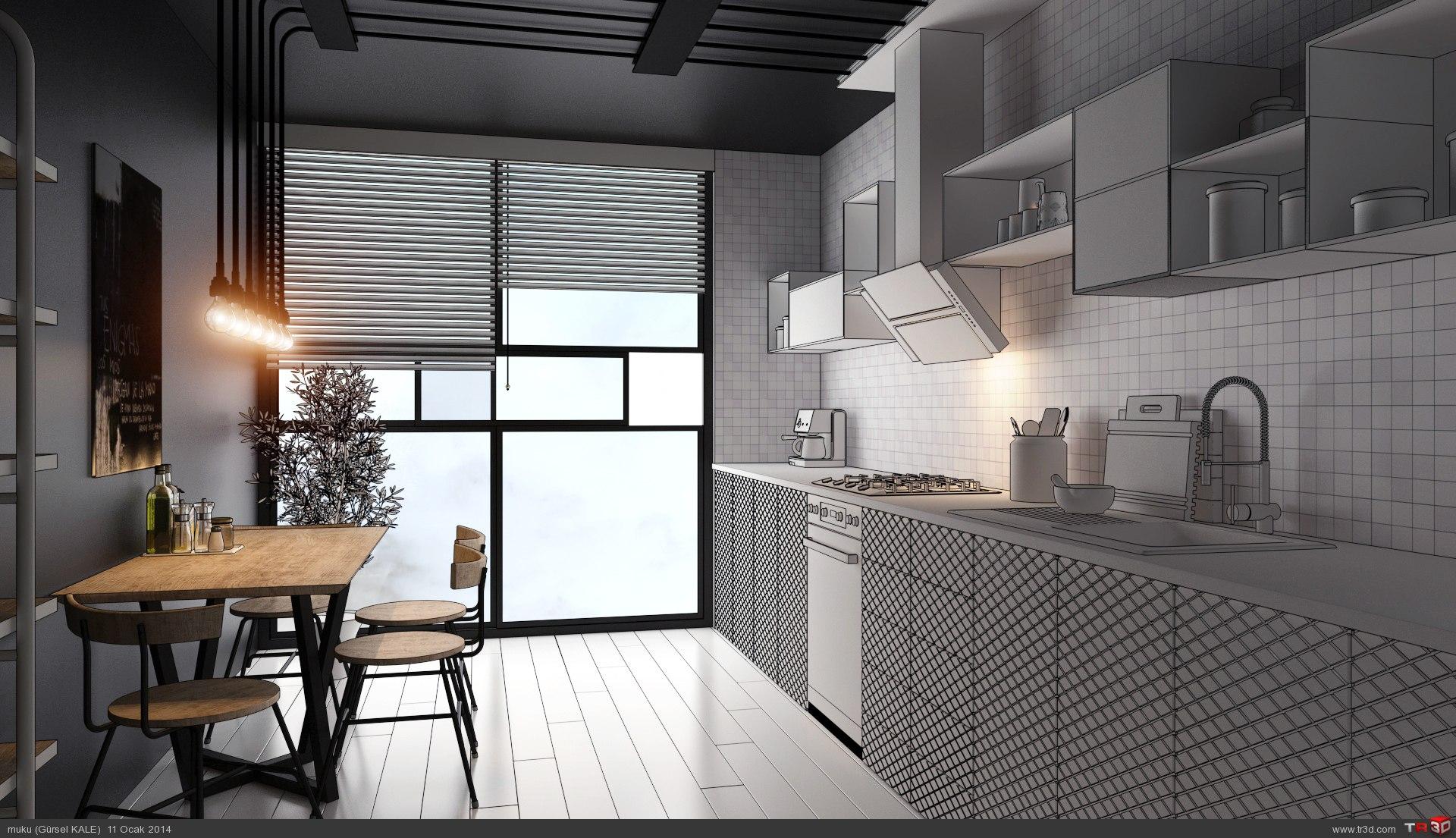 Olive kitchen 1