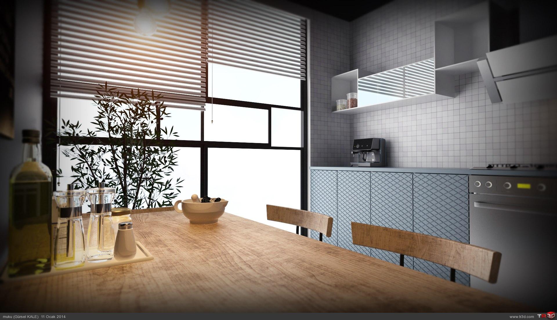 Olive kitchen 3