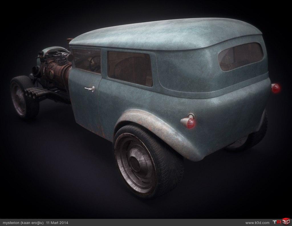 Steampunk Hot rod 2