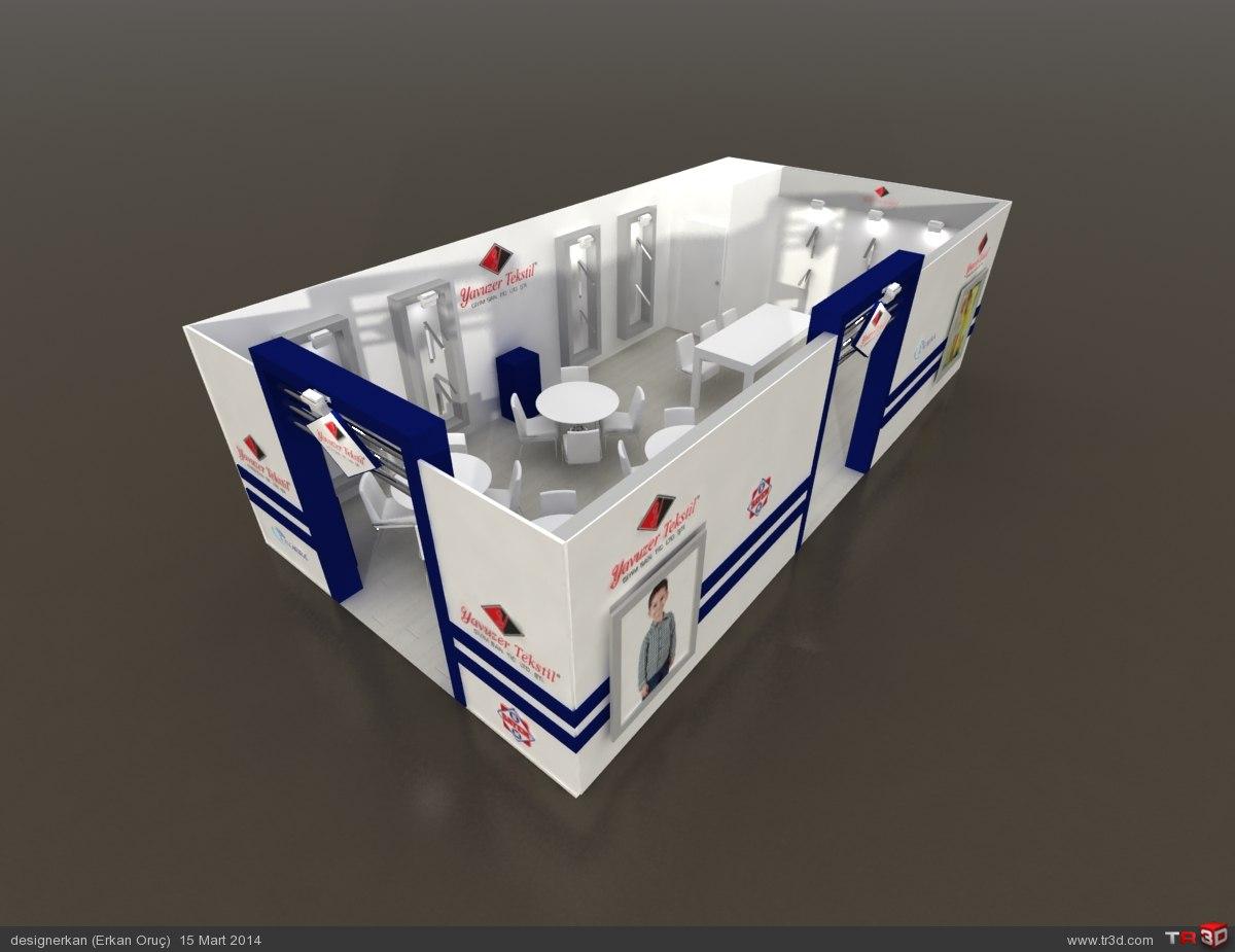 Pentex Fuar Stand Tasarımları 5