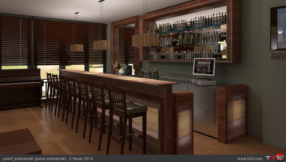 lobi bar yemek odası