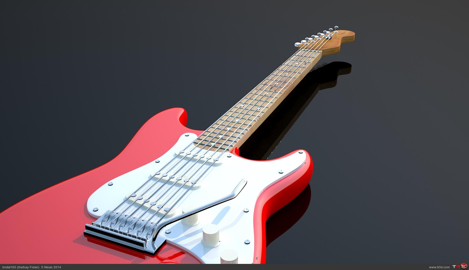 Strat Gitar 3
