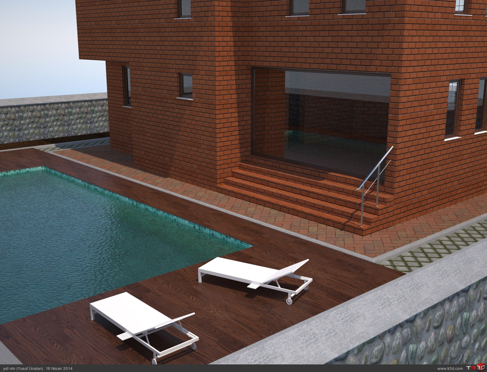 3D Villa  2