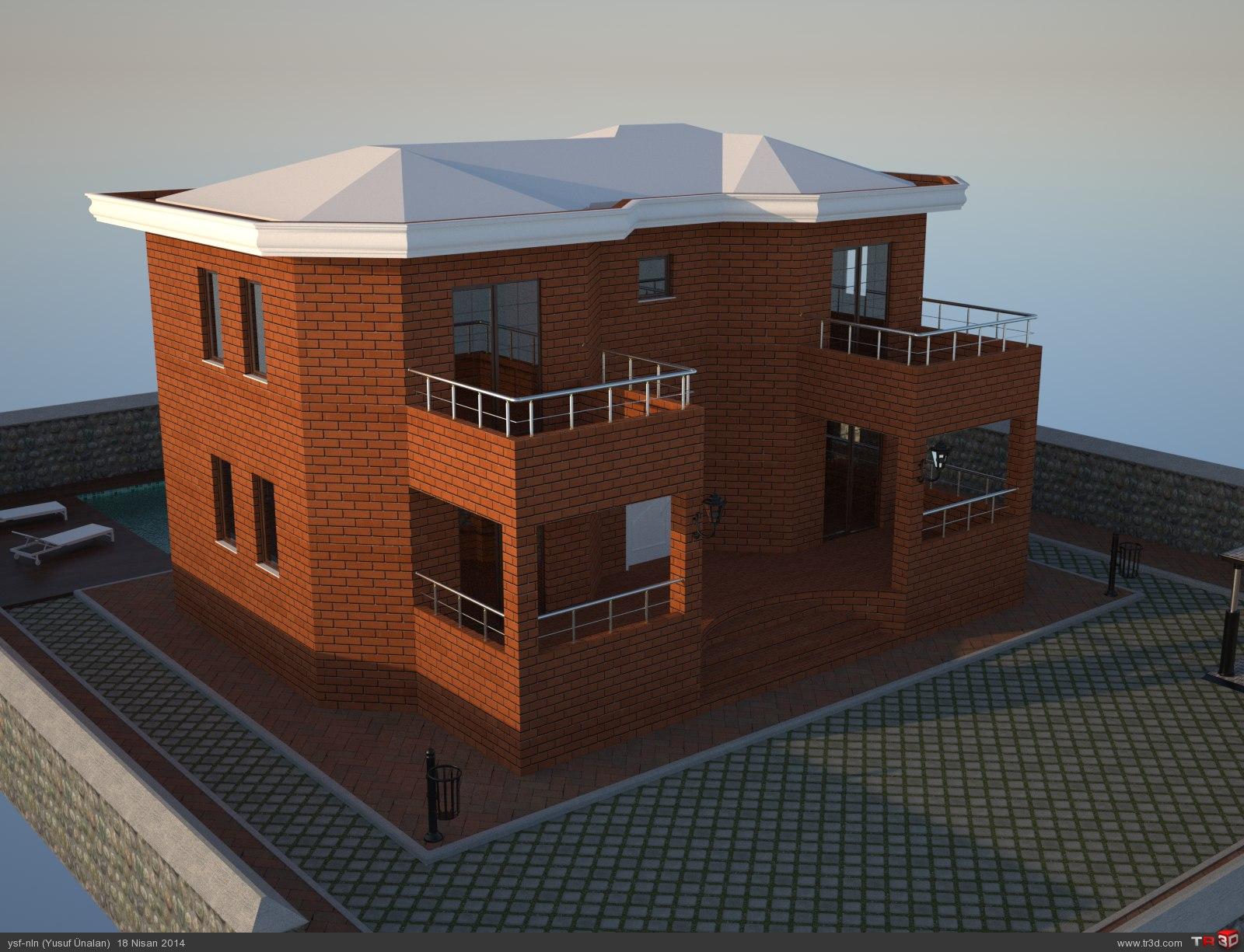 3D Villa  3