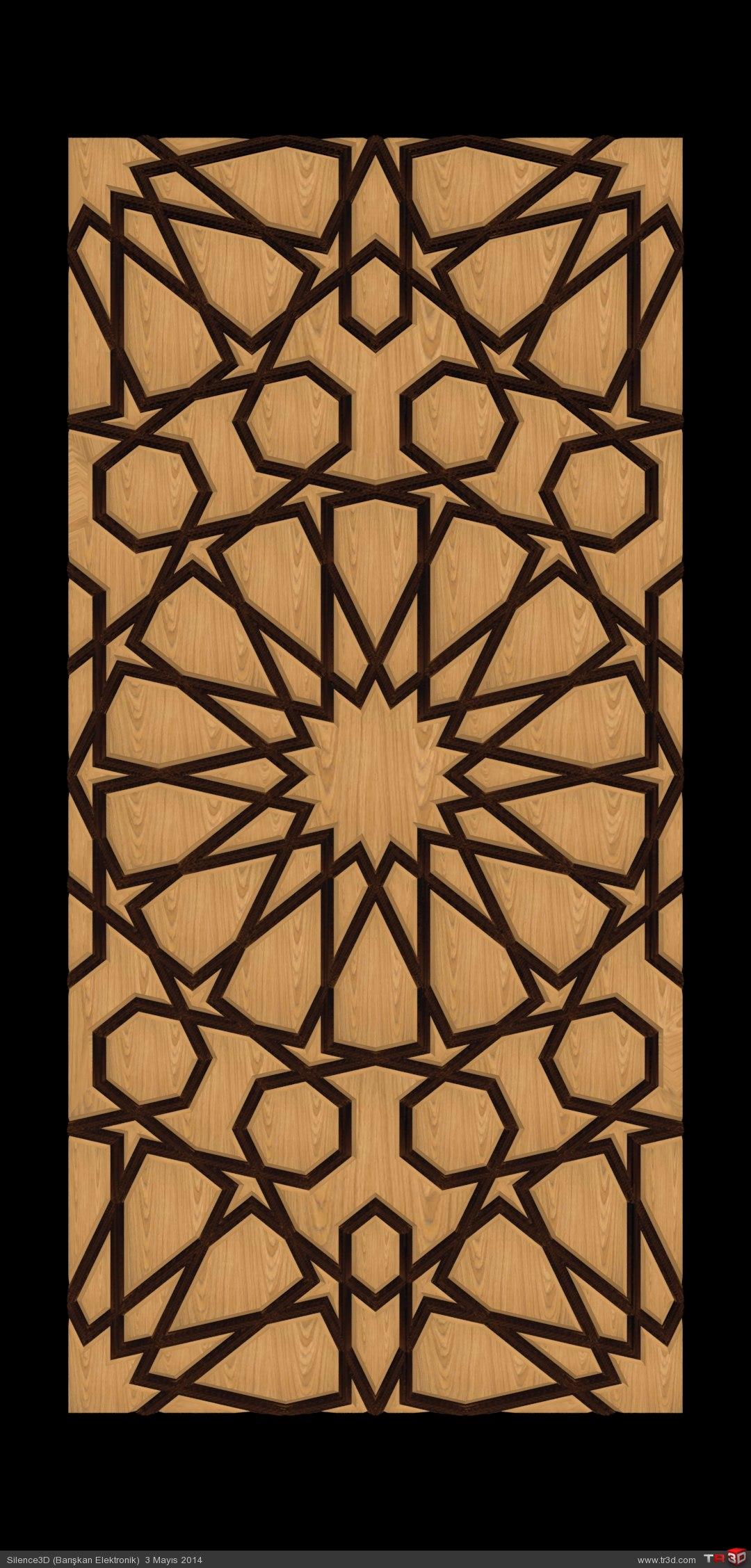 Kündekari Kapı Motif Çalışması 1