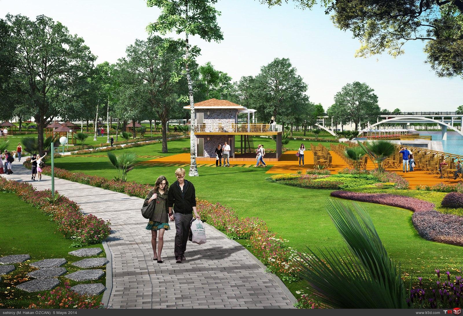 Aydın`da park projeleri