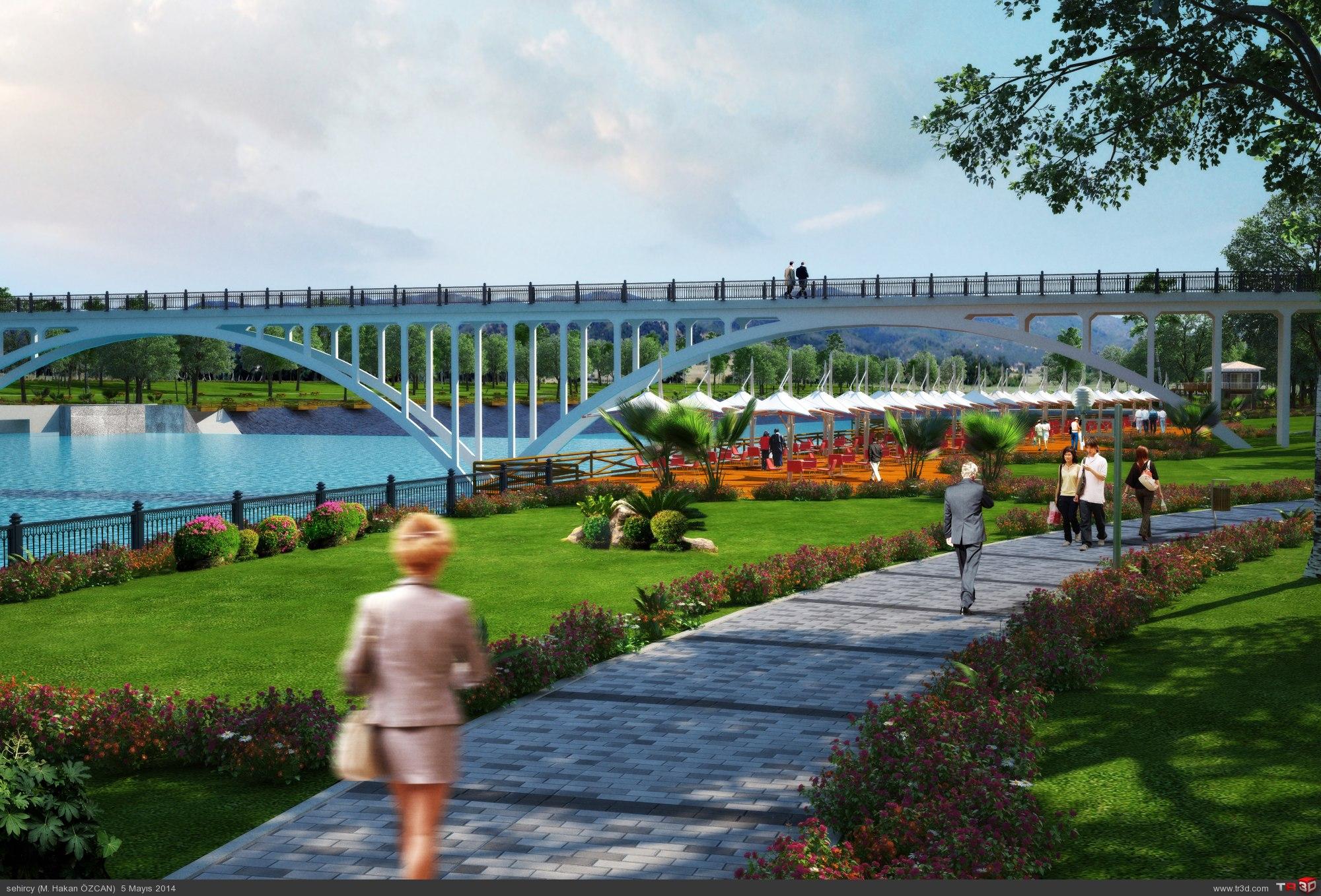 Aydın`da park projeleri 1