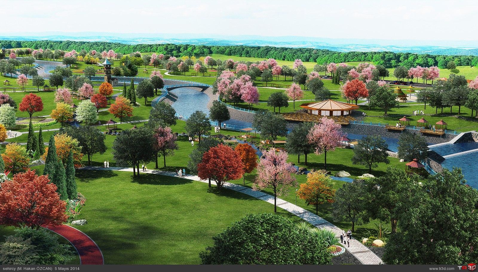 Aydın`da park projeleri 2