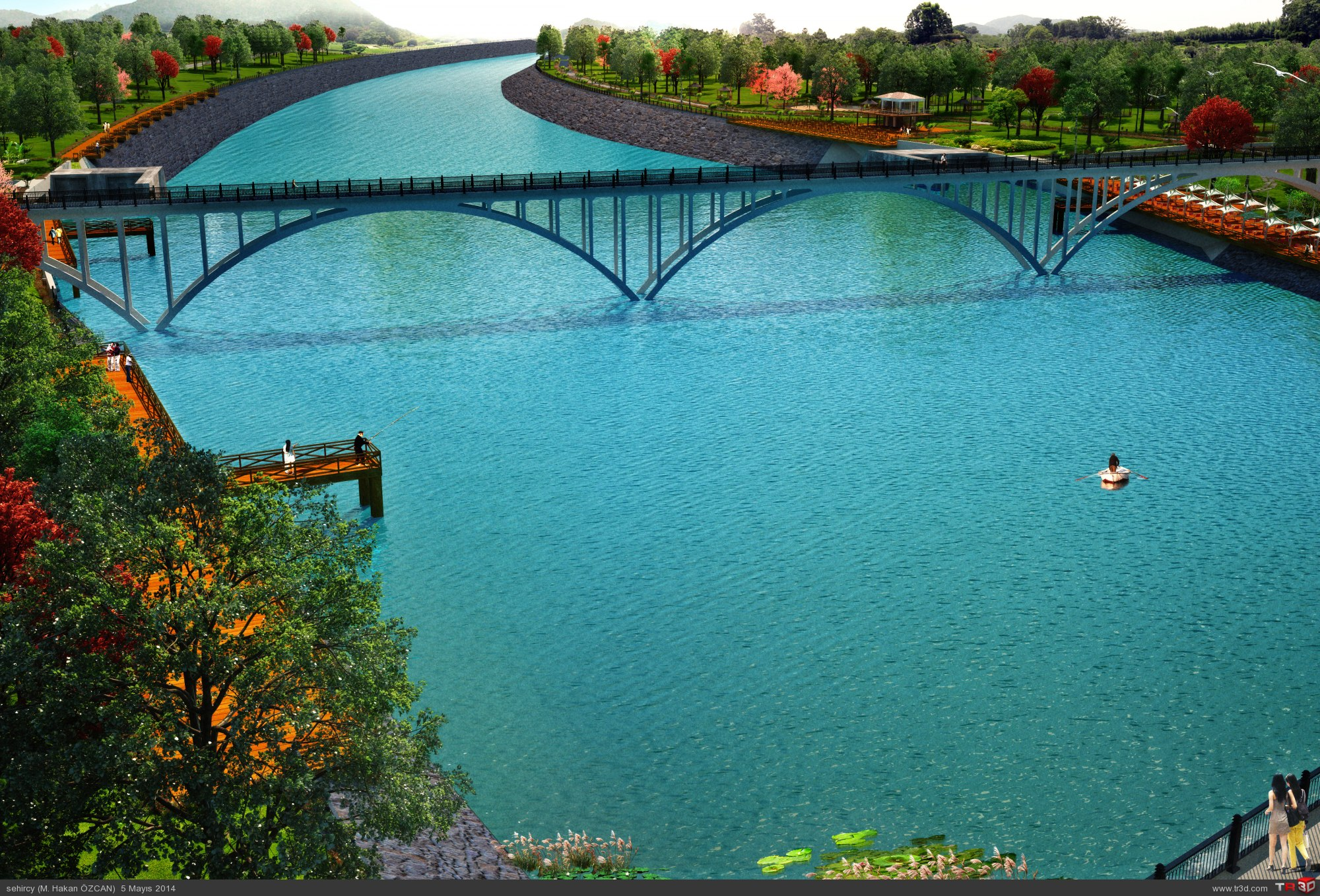 Aydın`da park projeleri 3