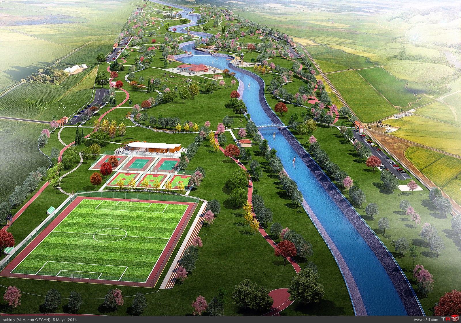 Aydın`da park projeleri 4