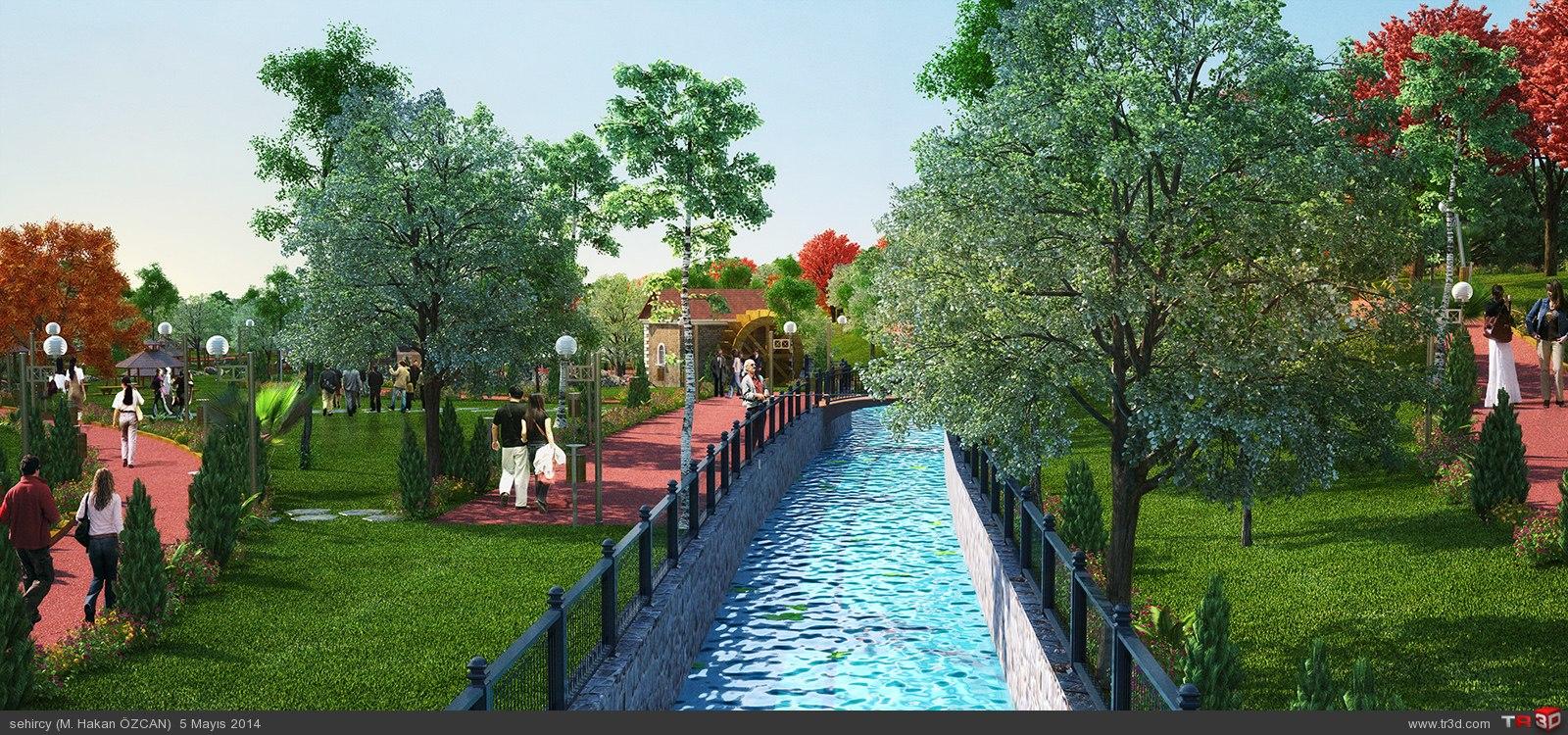 Aydın`da park projeleri 6