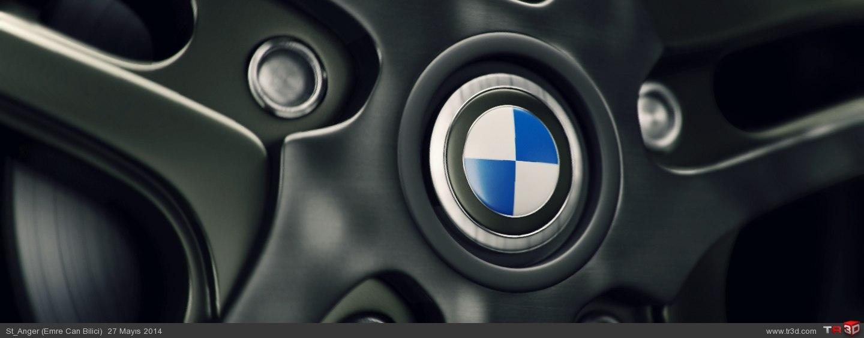 BMW Araba Jantı Test Render - Mentalray