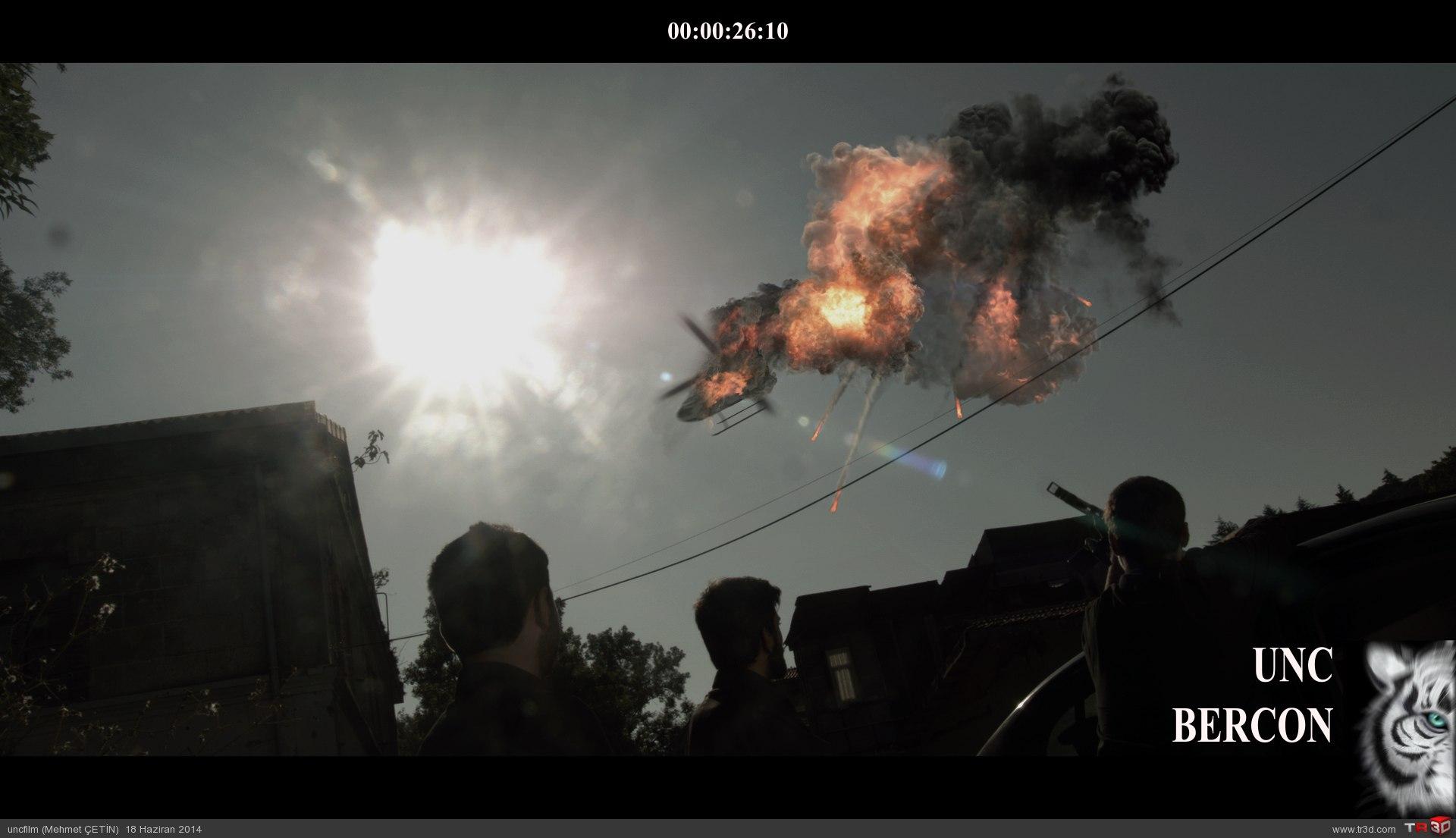 Tv proje / helikopter roket