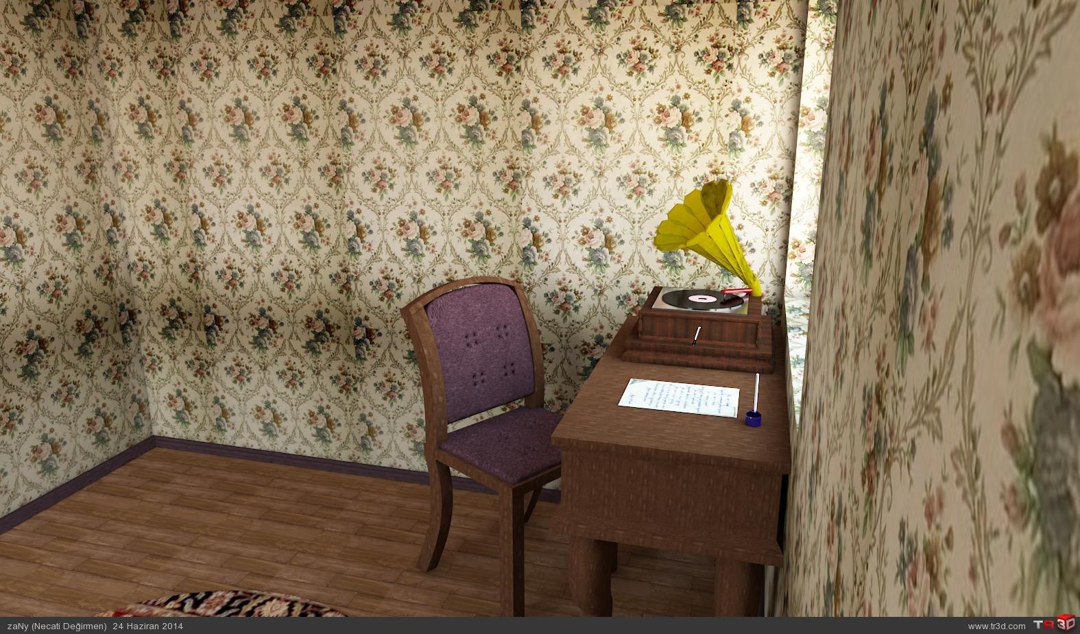 Şairin çalışma odası