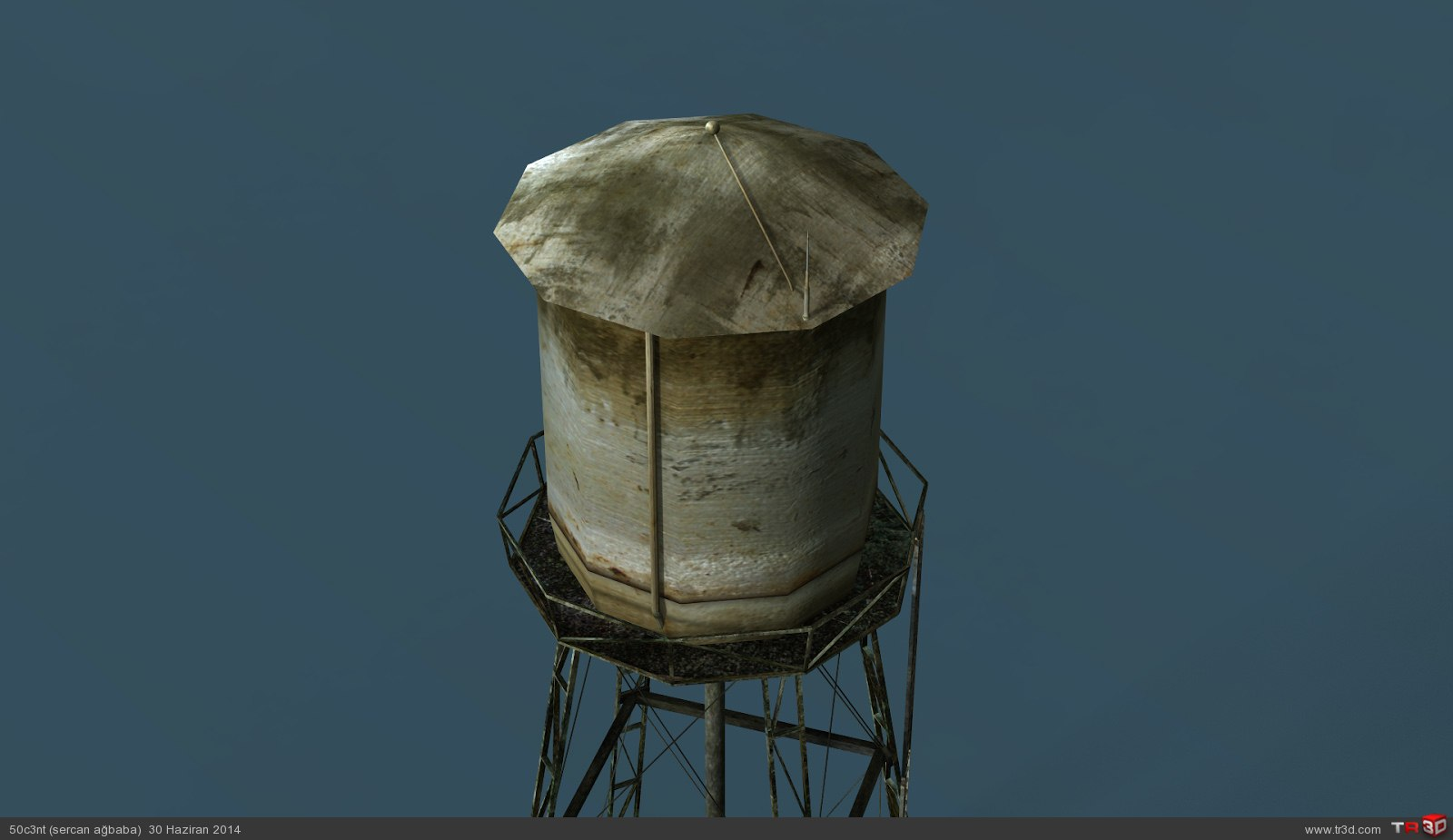 Ball and Water Tower 3