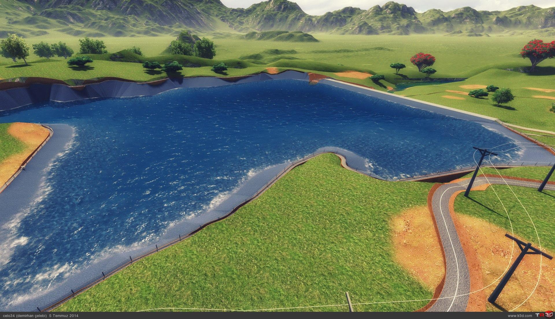 gündoğmuş göleti 3