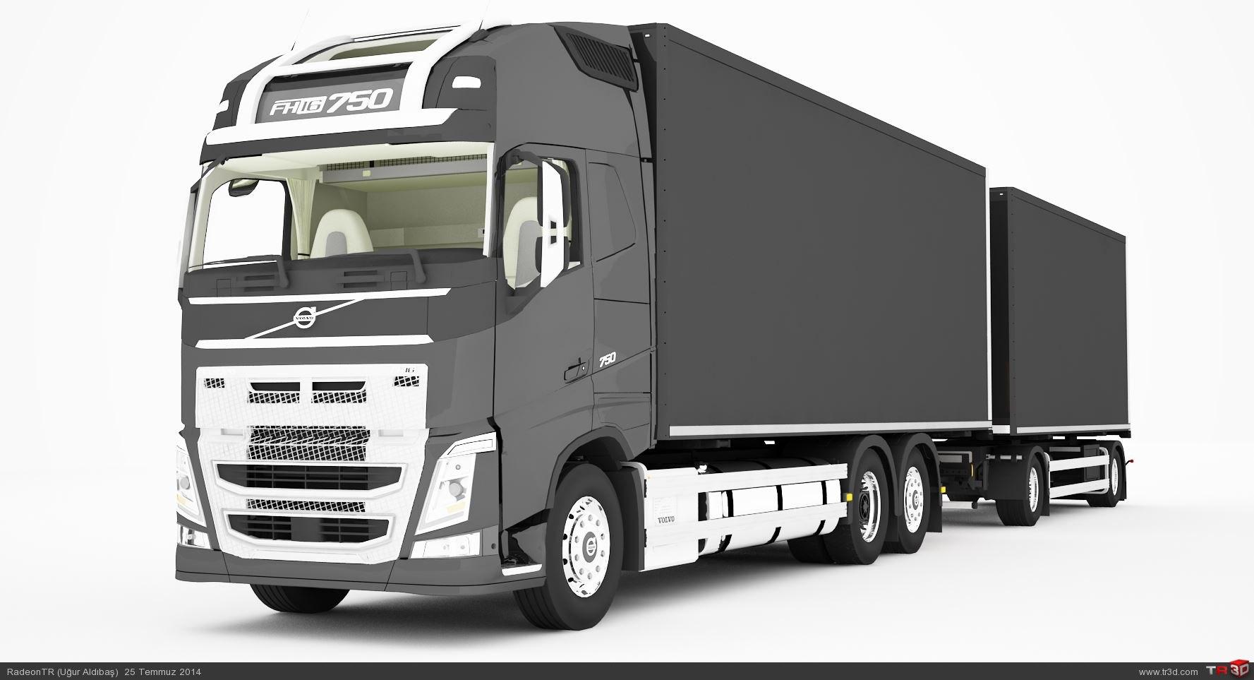 Volvo FH15 750 + Römork