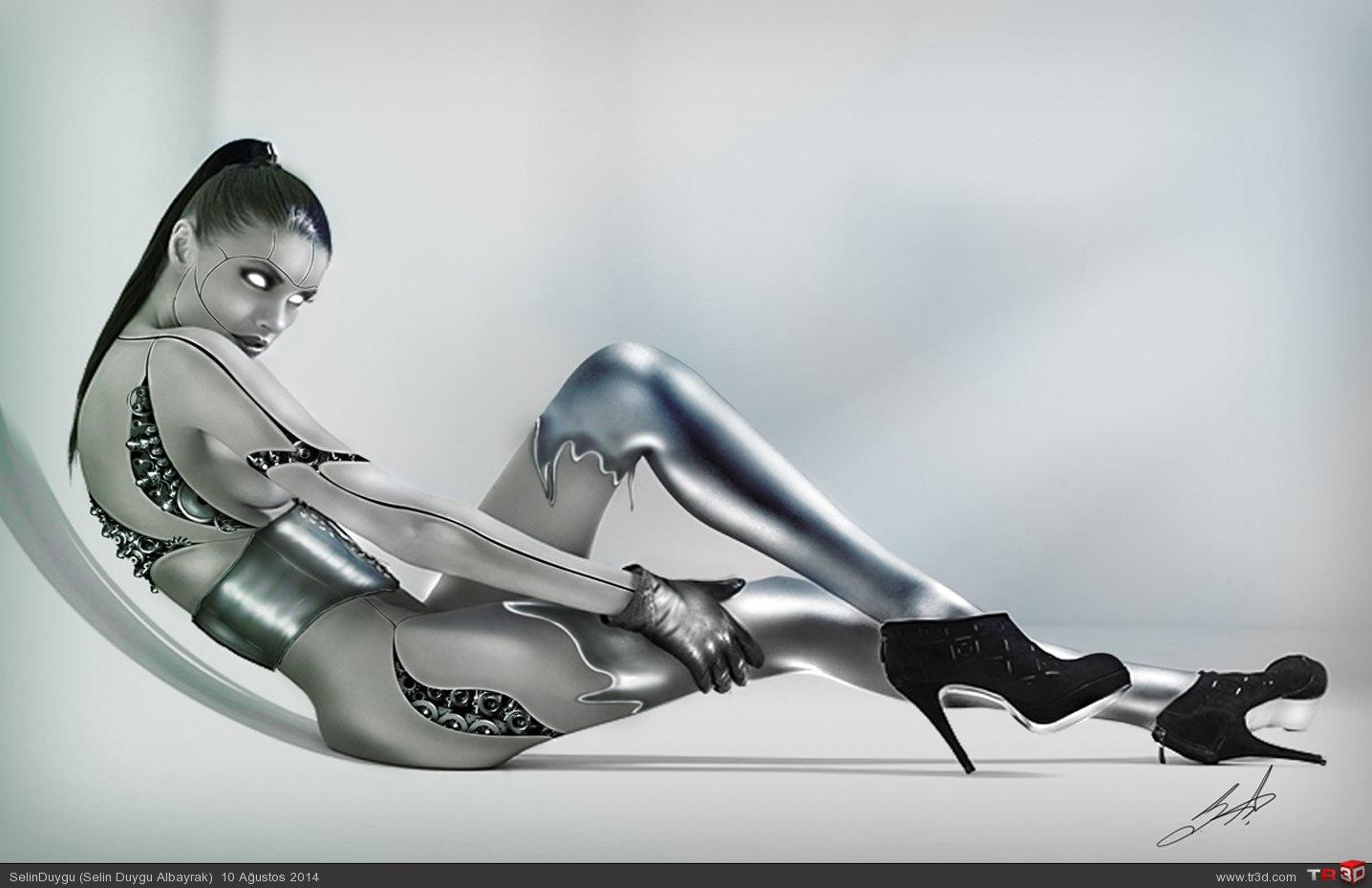 Robot kadın