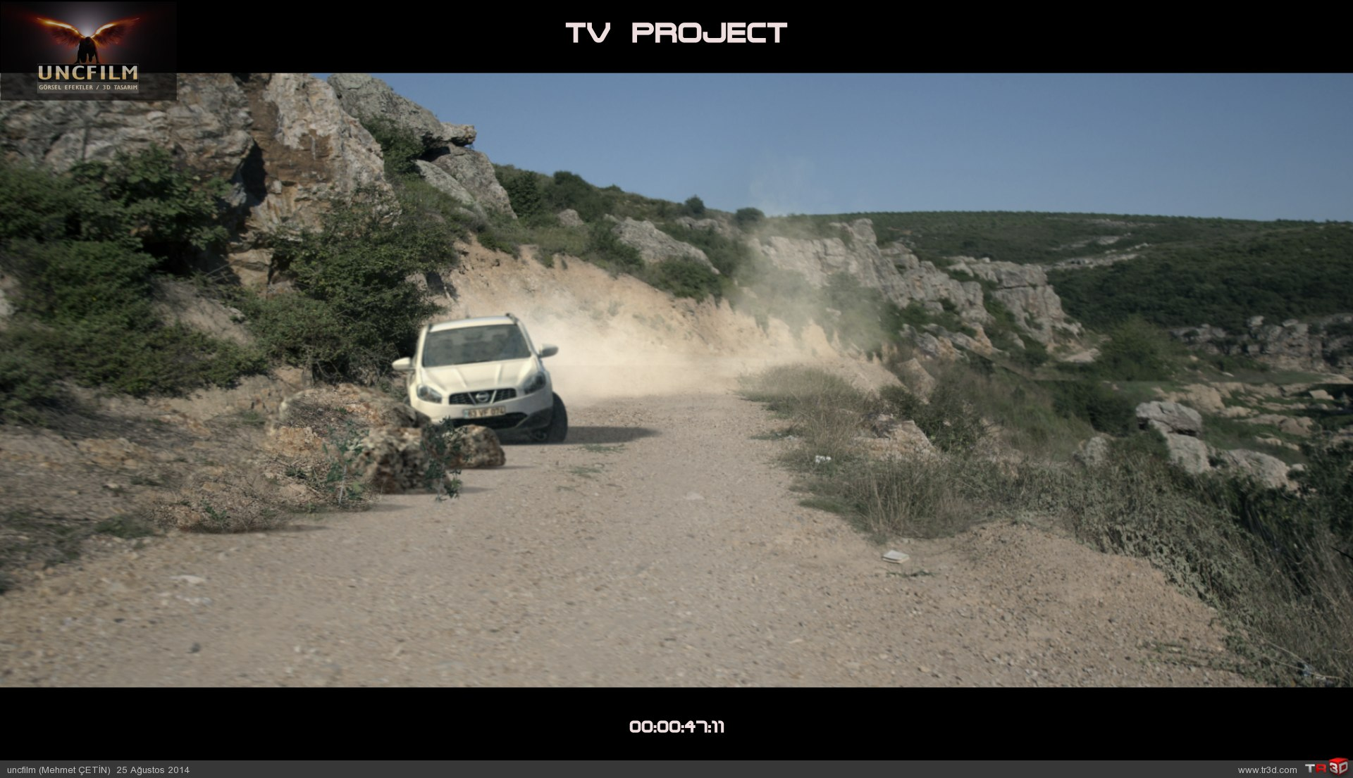 Tv produksiyon, kaza sahnesi 1