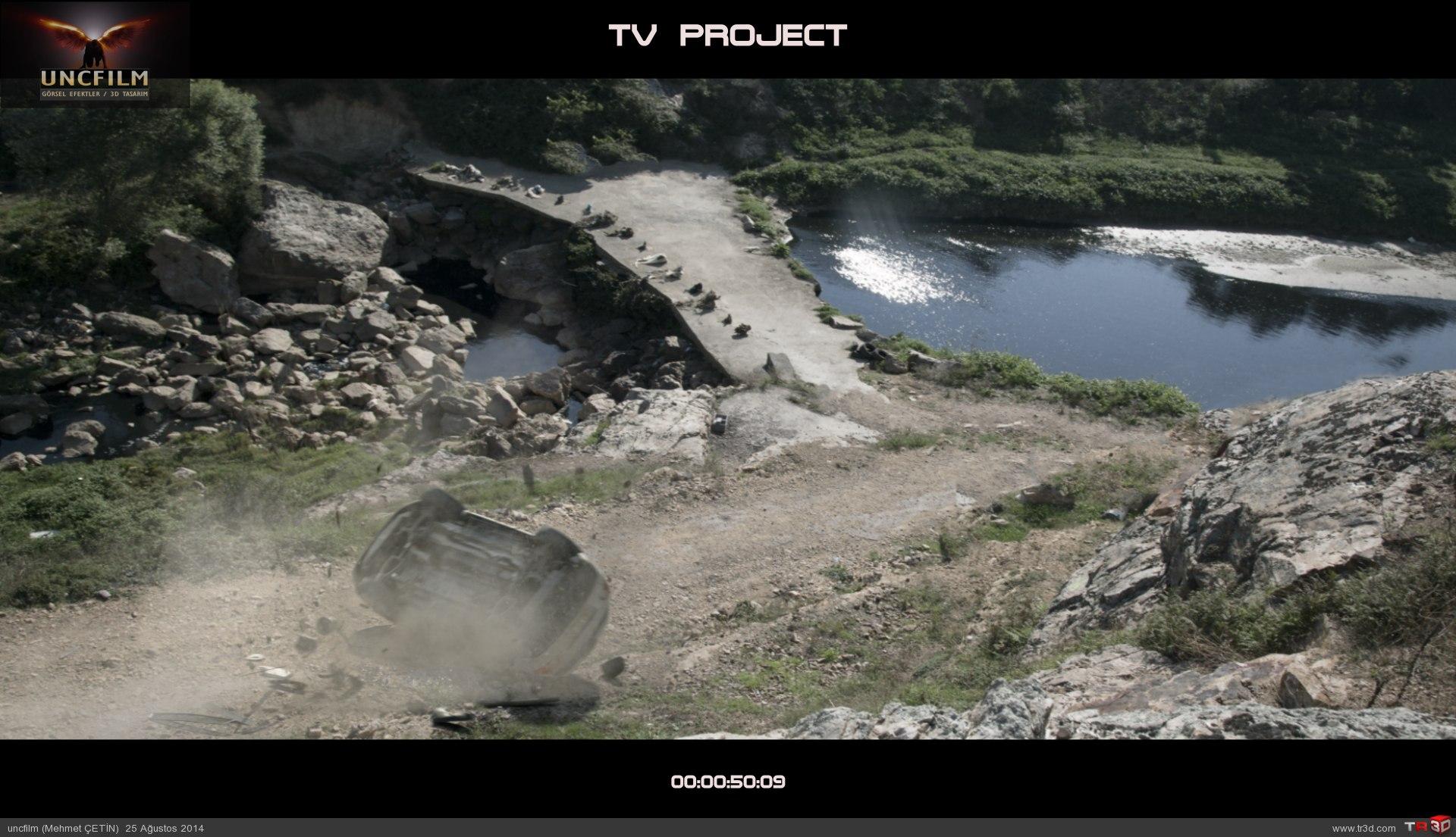 Tv produksiyon, kaza sahnesi 3