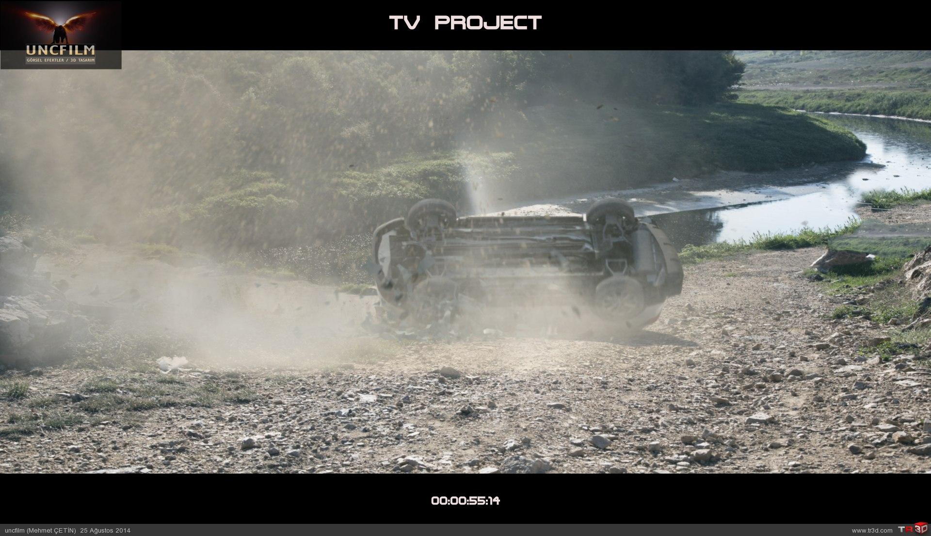 Tv produksiyon, kaza sahnesi 5