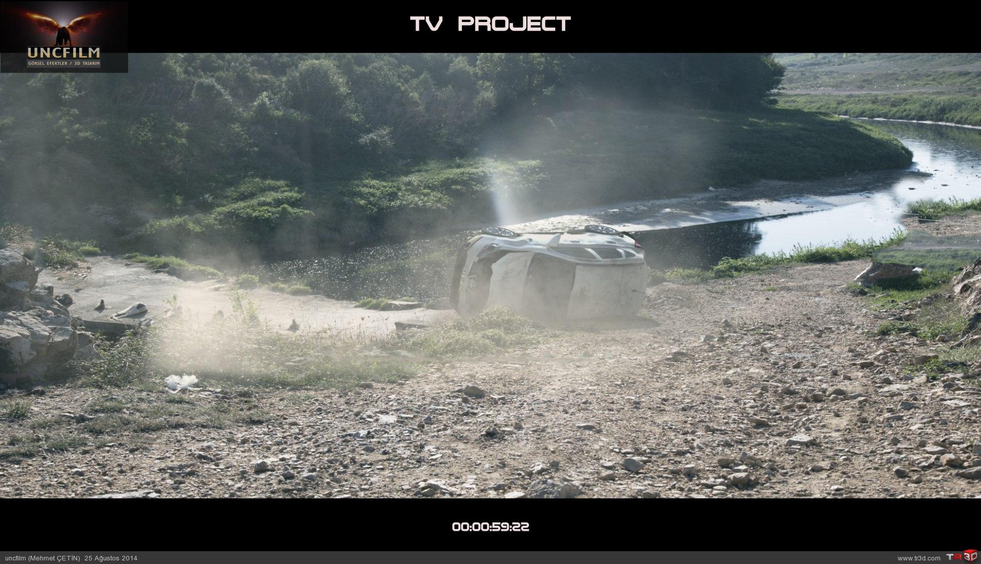 Tv produksiyon, kaza sahnesi 6