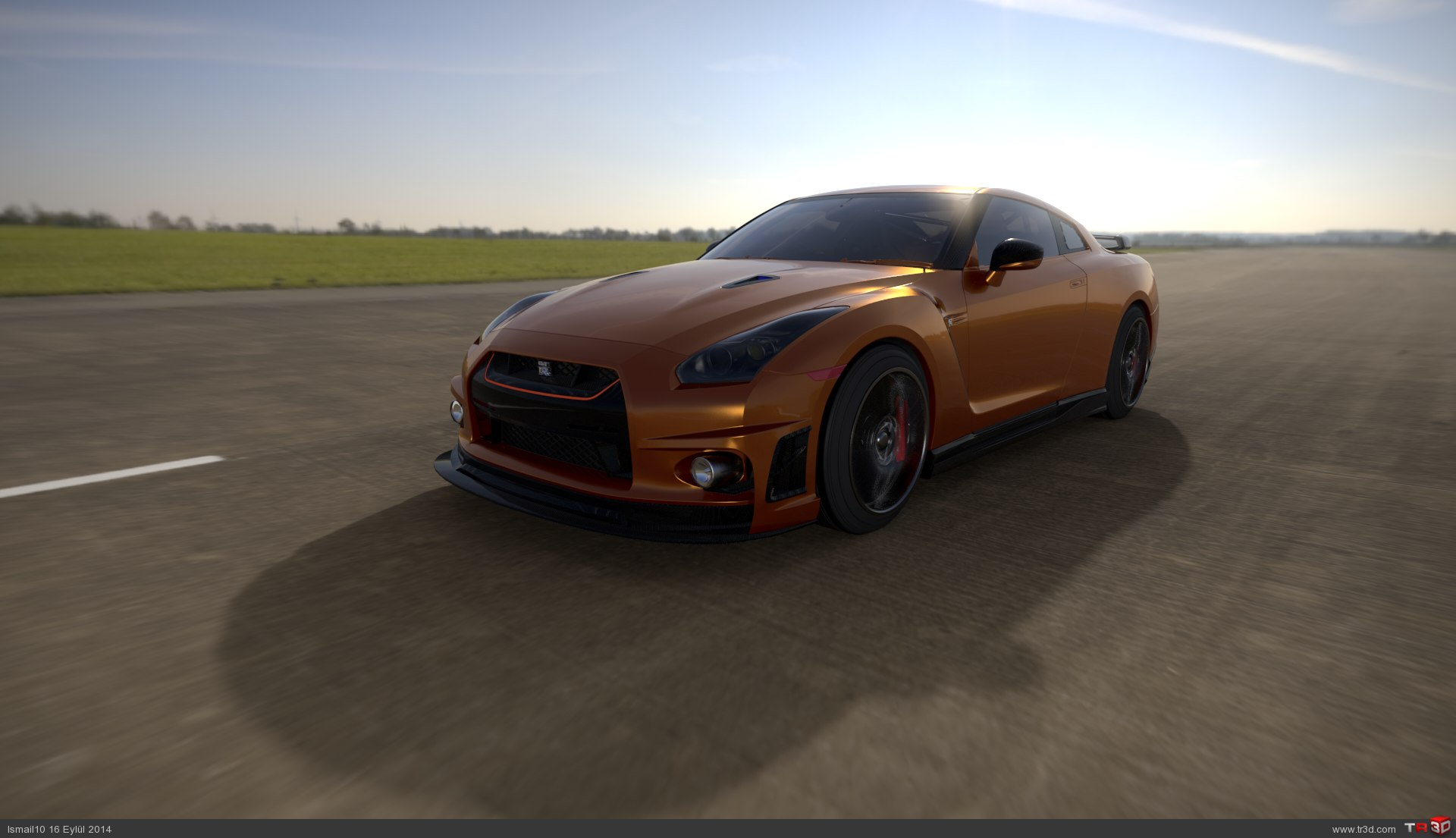 Nissan Skyline GTR 1