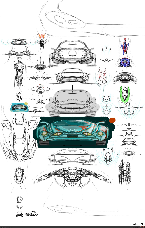 Çeşitli tasarım konseptleri