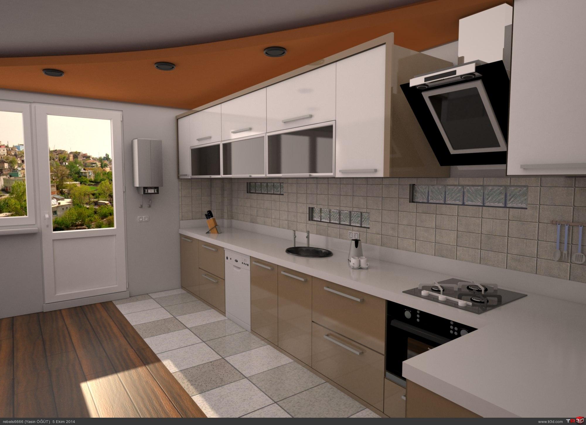 Mutfak dolabı tasarımı