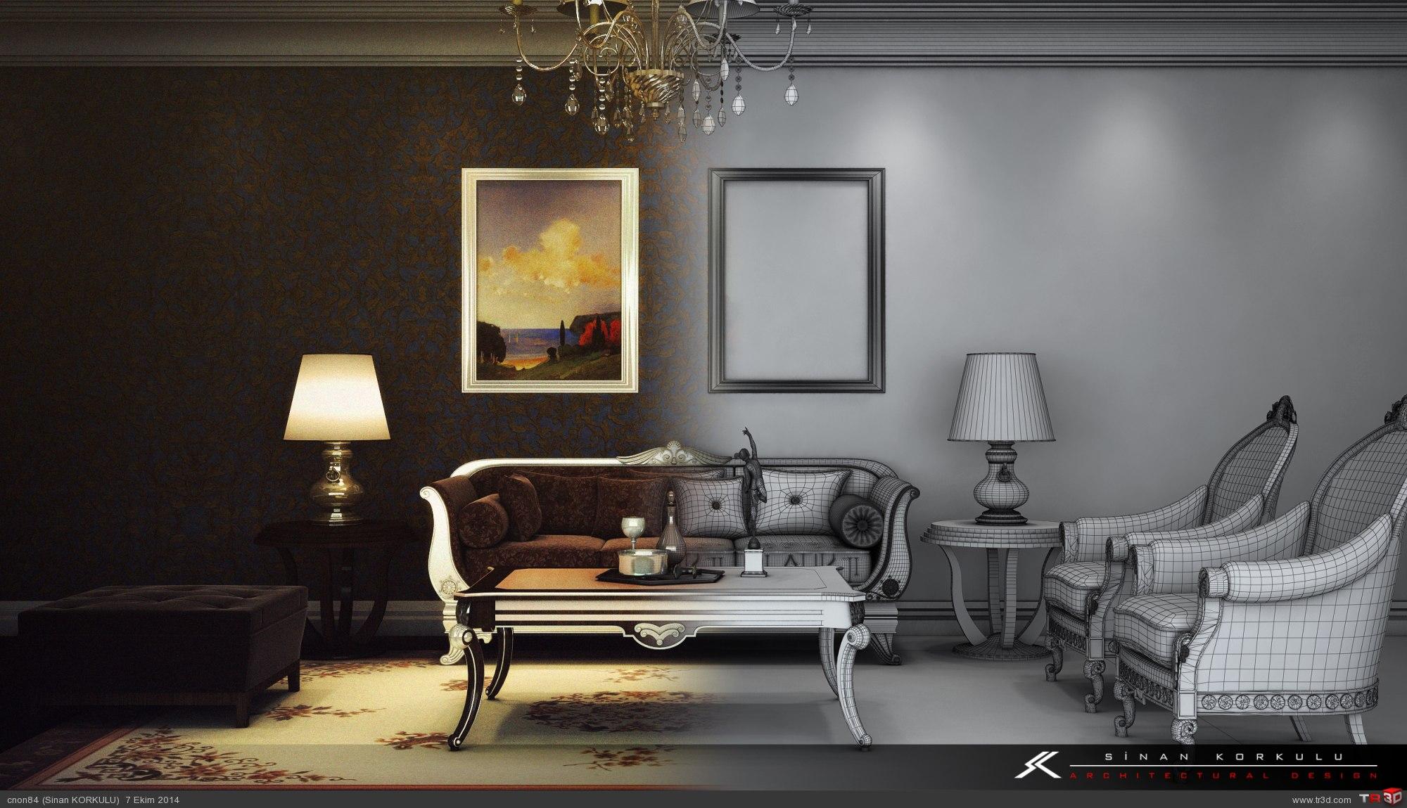 classic living room mimari projeler fresh modern classic living room design 15826
