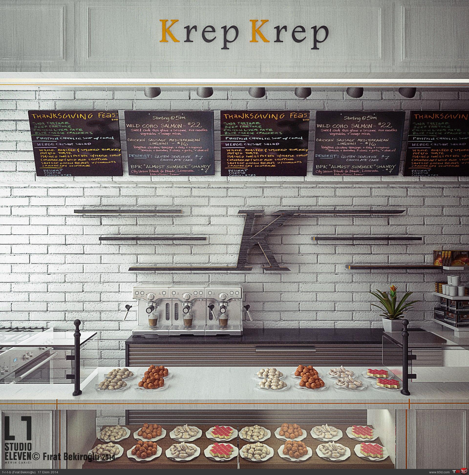 Krep Kafe Tasarımı 2