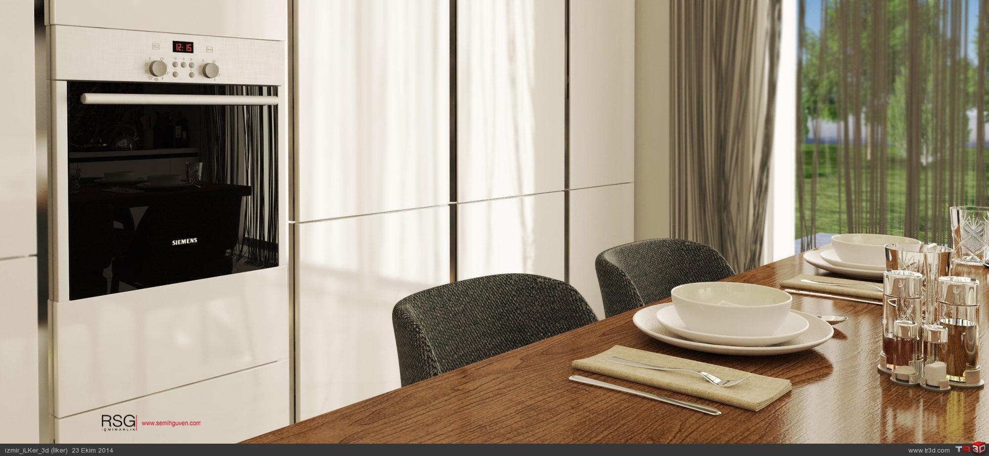 Mutfak & Yatak Odası & Banyo 2