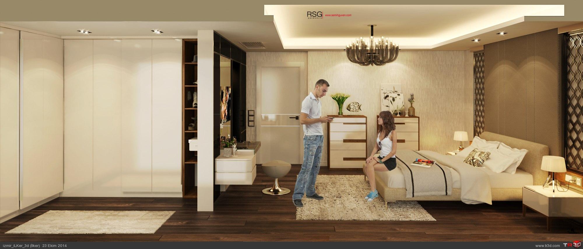 Mutfak & Yatak Odası & Banyo 5
