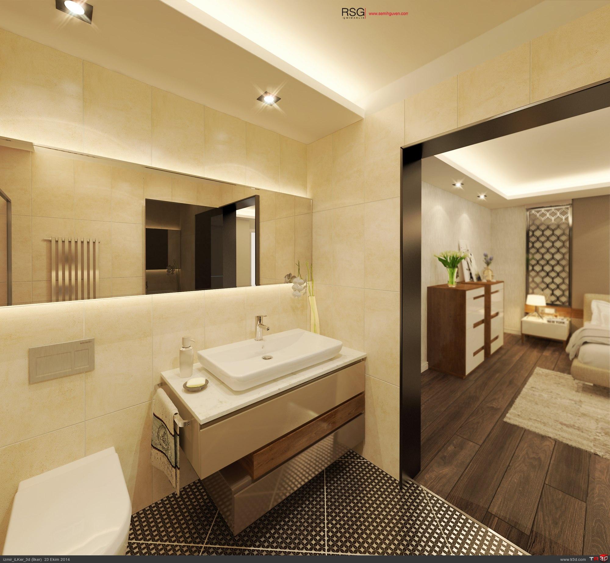 Mutfak & Yatak Odası & Banyo 6