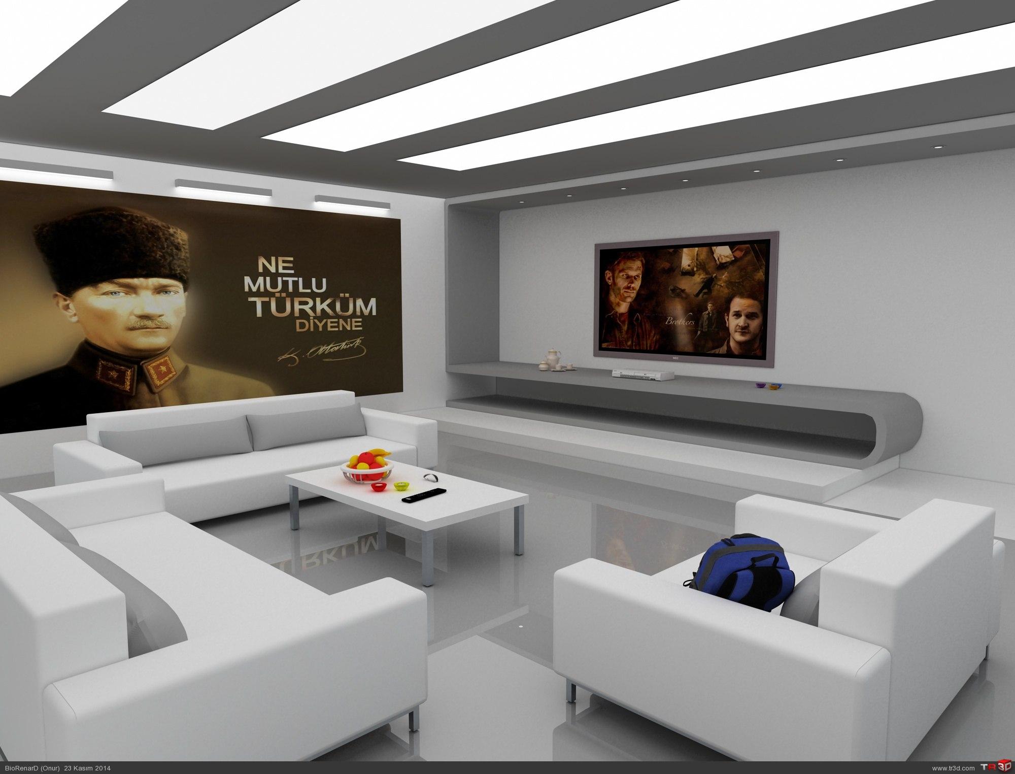 İç Mekan-oturma odası