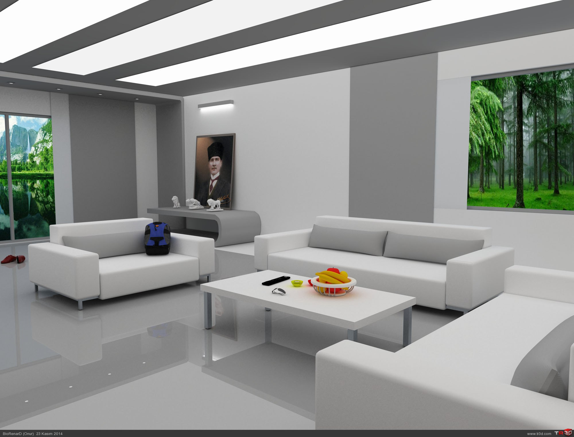 İç Mekan-oturma odası 1