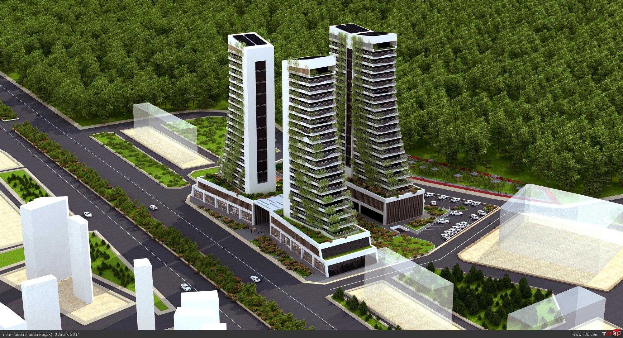 Green towers residance